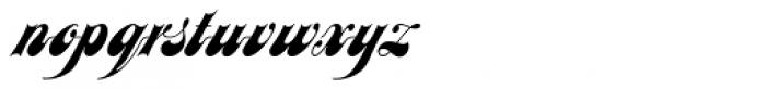 Julia Script Font LOWERCASE