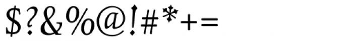 Juliana Text Italic SC Font OTHER CHARS