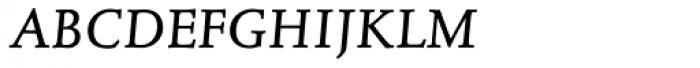 Juliana Text Italic SC Font LOWERCASE