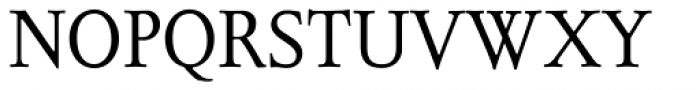 Juliana Text Roman SC Font UPPERCASE