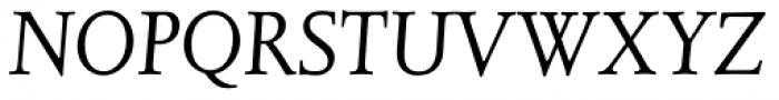 Juliana Text Std Italic Font UPPERCASE