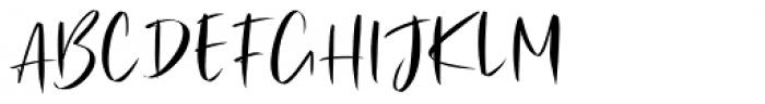 Julie Brious Regular Font UPPERCASE
