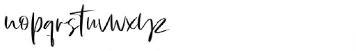 Julie Brious Regular Font LOWERCASE