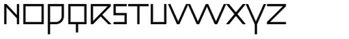 Julien Std Light Square Font UPPERCASE