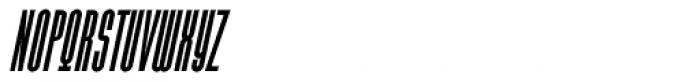 Julienne Slim Bold Italic Font UPPERCASE