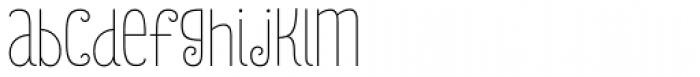 Julieta Essential Font LOWERCASE