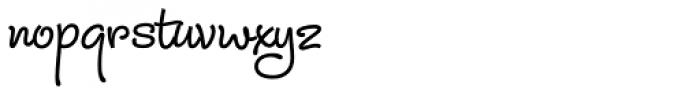 Julietrose Bold Font LOWERCASE