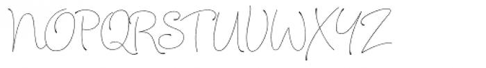 Julietrose Regular Font UPPERCASE