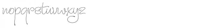 Julietrose Regular Font LOWERCASE