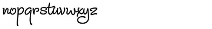Julietrose Std Bold Font LOWERCASE