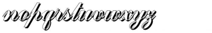 Julisa Script Shadow Font LOWERCASE