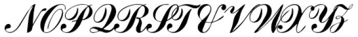 Julisa Script Font UPPERCASE