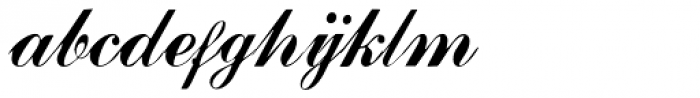 Julisa Script Font LOWERCASE