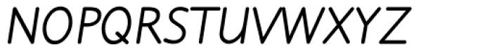 Julius Primary Bold Italic Font UPPERCASE