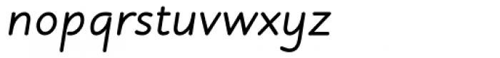 Julius Primary Bold Italic Font LOWERCASE