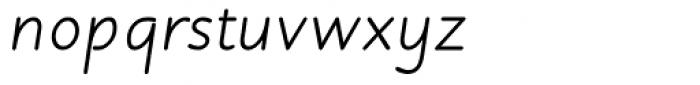 Julius Primary Italic Font LOWERCASE