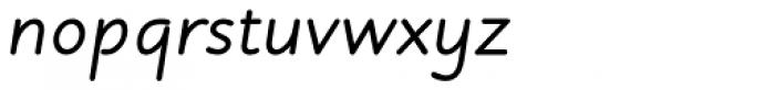 Julius Primary Std Bold Italic Font LOWERCASE