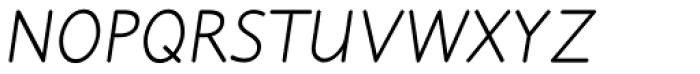 Julius Primary Std Italic Font UPPERCASE