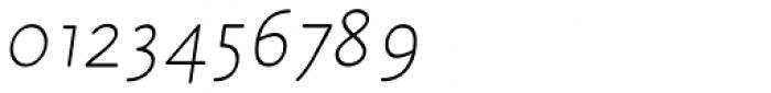 Julius Primary Std Light Italic Font OTHER CHARS