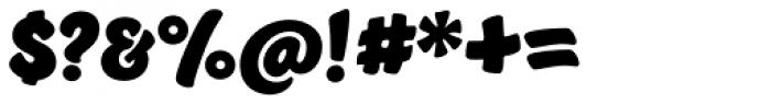 Jumble Font OTHER CHARS
