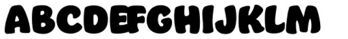 Jumble Font UPPERCASE
