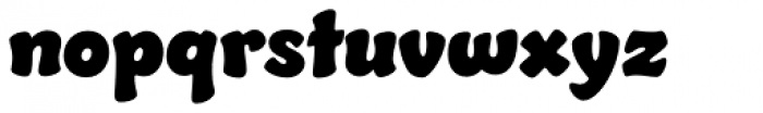 Jumble Font LOWERCASE