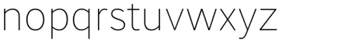 June Thin Font LOWERCASE