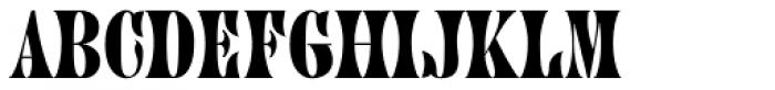 Juniper Std Font UPPERCASE