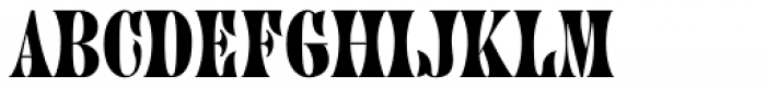 Juniper Std Font LOWERCASE