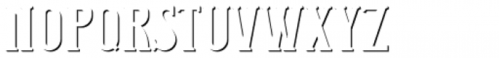Junk Food Shadow FX Font UPPERCASE