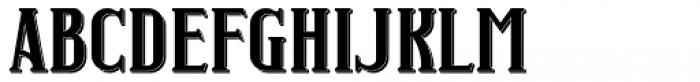 Junk Food Shadow Font UPPERCASE