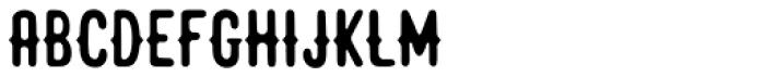 Junkoung Font UPPERCASE