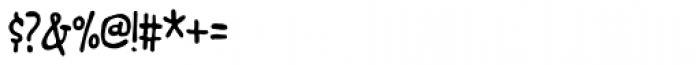 Junkyard Plush Font OTHER CHARS