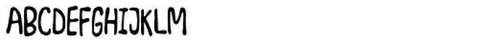 Junkyard Plush Font UPPERCASE