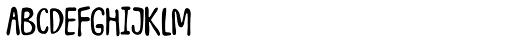 Junkyard Plush Font LOWERCASE