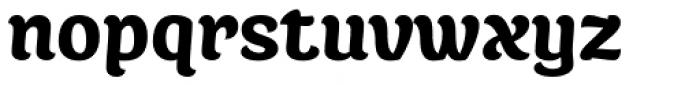 Juno Black Font LOWERCASE