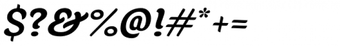 Juno Bold Italic Font OTHER CHARS