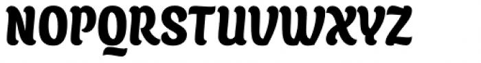 Juno Condensed Black Font UPPERCASE