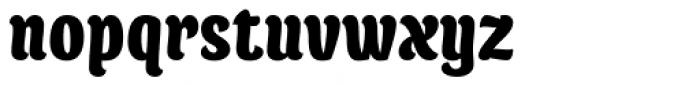 Juno Condensed Black Font LOWERCASE