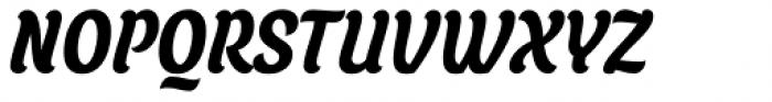 Juno Condensed Bold Italic Font UPPERCASE
