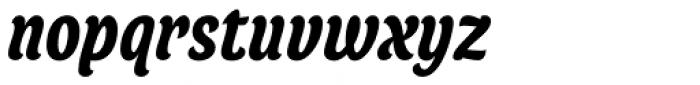 Juno Condensed Bold Italic Font LOWERCASE