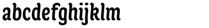 Juno Condensed Medium Font LOWERCASE