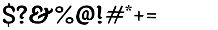 Juno Medium Font OTHER CHARS