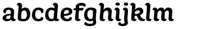 Juno Semi Expanded Bold Font LOWERCASE
