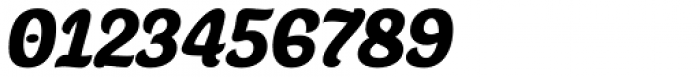 Juno Semicondensed Black Italic Font OTHER CHARS