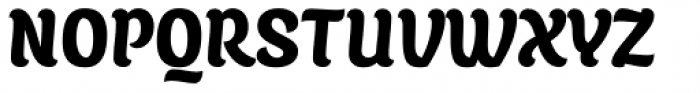 Juno Semicondensed Black Font UPPERCASE