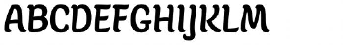 Juno Semicondensed-Medium Font UPPERCASE