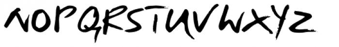 Just Deine Regular Font UPPERCASE