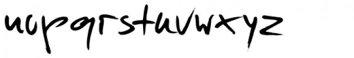 Just Deine Regular Font LOWERCASE