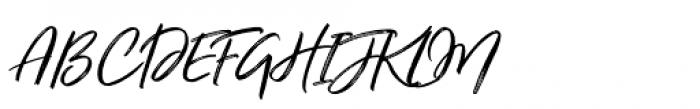 Just Lovely Slanted Wide Font UPPERCASE